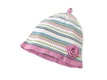 勇发服饰-女童婴儿条纹婴儿针织帽 -AM008