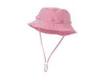 勇发服饰-儿童婴儿海军条纹太阳帽边帽定做 -AM026