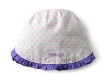 勇发服饰-小荷叶边点点婴儿帽 -AM029