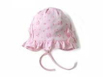 勇发服饰-荷叶边婴儿帽定做-AM038