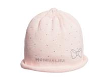 勇发服饰-新款点点儿童 婴儿秋冬保暖套头针织帽 小清新款定做-AM053