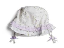 勇发服饰-可爱小辫子婴儿小边帽 夏季 外贸ODM专业定制定做 -AM055