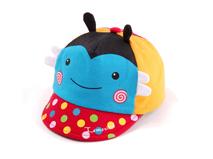 勇发服饰-婴儿撞色拼接小蜜蜂可爱卡通五页鸭舌帽 棒球帽 春夏 -AM060