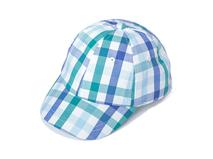 勇发服饰-婴儿格子夏季六页棒球帽订做加工 12年诚信通 小孩帽 -AM062