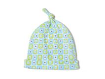 勇发服饰-婴儿套头帽ODM出口订制订做 尖顶 折边 春夏 新款-AM063