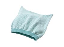 勇发服饰-广东广州帽厂订做婴儿海军条纹针织布套头帽 春夏-AM067