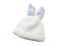 勇发服饰-白色小兔子耳朵可爱婴儿秋冬保暖帽 小孩帽 ODM加工定做-AM068