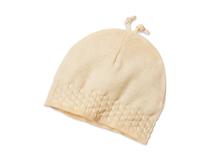 勇发服饰-黄色新款婴儿帽子 广州工厂生产订做 春夏 小孩套头帽 -AM069