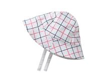 勇发服饰-高端格子儿童户外遮阳桶帽 夏季 21年制帽经验 -RM426