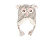 勇发服饰-猫头鹰儿童新款针织毛线帽 小辫子 秋冬保暖 广州帽厂-RM441