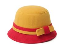勇发服饰-蝴蝶结儿童羊毛礼帽订制定做 广东广州工厂加工订做 -RW437
