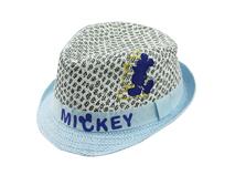 勇发服饰-小清新款儿童定型礼帽定制订做 绣花 21年制帽经验 -RZ435