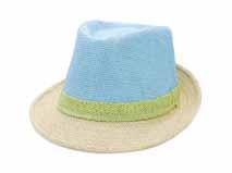 勇发服饰-简约撞色拼接夏季户外遮阳草编定型帽专业定做订制 -RZ462