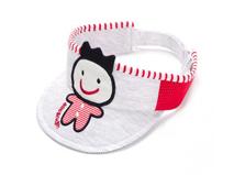 勇发服饰-可爱小人绣花儿童空顶帽 夏季 婴儿帽子 12年诚信通 -AM075