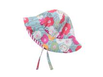 勇发服饰-广州帽厂订制订做小女孩小边帽 夏季 花朵 外贸出口贴牌-YM017