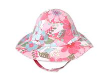 勇发服饰-工厂专业生产订制加工小女孩夏季户外遮阳盆帽 小清新款-YM018