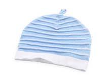 勇发服饰-小清新款条纹儿童套头帽AM081