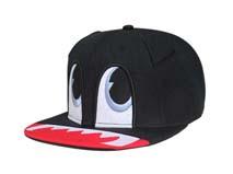勇发服饰-超可爱儿童卡通平沿帽 嘻哈帽 RJ465