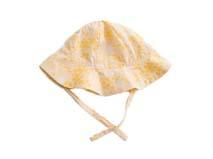 勇发服饰-黄色小女孩印花夏季遮阳盆帽 渔夫小边帽RM467