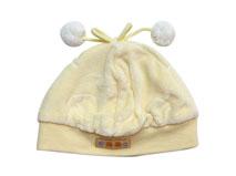 勇发服饰-婴儿装饰球秋冬保暖套头帽加工订制AM088