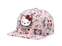 勇发服饰-Hello Kitty绣花儿童平沿帽 嘻哈帽-RM485