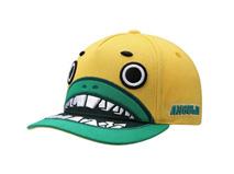 勇发服饰-生产订制卡通绣花怪物牙齿遮阳棒球帽RM495