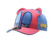 勇发服饰-新款撞色拼接卡通棒球帽RM497